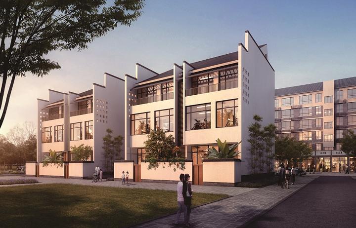 城中村变身徽派民居 武林新城首个蓝领公寓开建