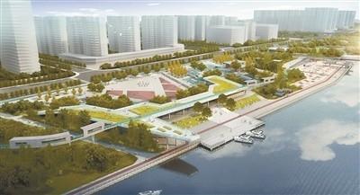城北运河东岸又添绿带 绿化景观预计明年上半年完工