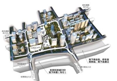 城西最大的地下城来了!杭州首条地下环路预计年内投入使用