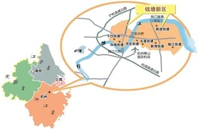 一个拥江时代的杭州钱塘新区 来了!