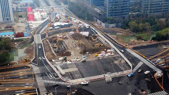 望江隧道今年国庆通车 三桥和四桥之间又多一条过江通道