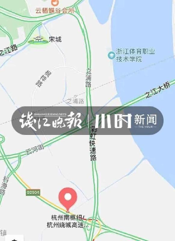 """激动!之浦路三期下穿隧道可以走啦 杭州快速路网最西一""""纵""""全线将无红绿灯"""