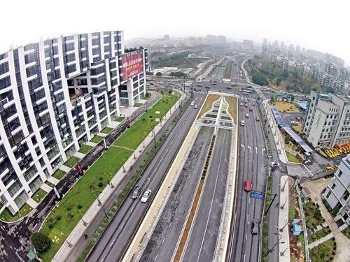 拱康路换上新装再出发 杭州大城北打造畅达交通网