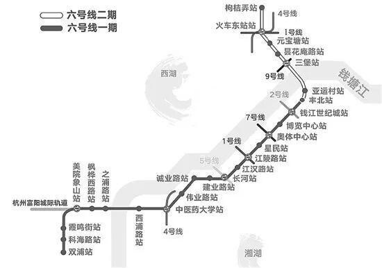杭富地铁又有新进展啦!现在建设到哪里了?看完就知道!