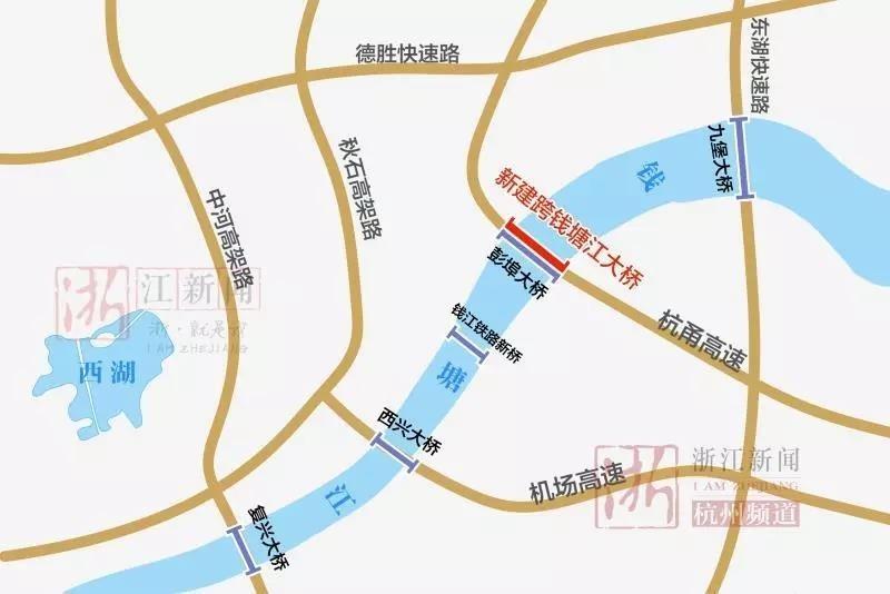杭州这条高速有了新进展!要建高架、机场快线、地面道路融为一体的综合交通走廊