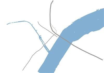 """钱江路北端规划建设""""7""""字形隧道 高架下面开地铁"""
