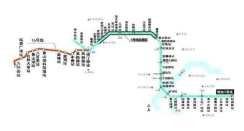 快讯 | 地铁5号线后通段、16号线计划4月底通车
