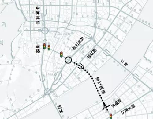 今起至5月1日,望江隧道这个时间禁止车辆通行!