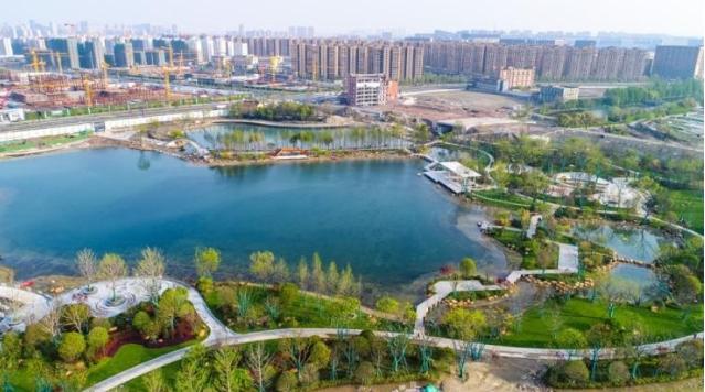 丰收湖公园下月与市民见面 钱塘智慧城要打造一个全新的数字产业高地
