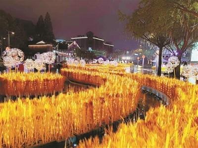 湖滨步行街二期昨亮相 第四届杭州(国际)未来生活节同步启幕