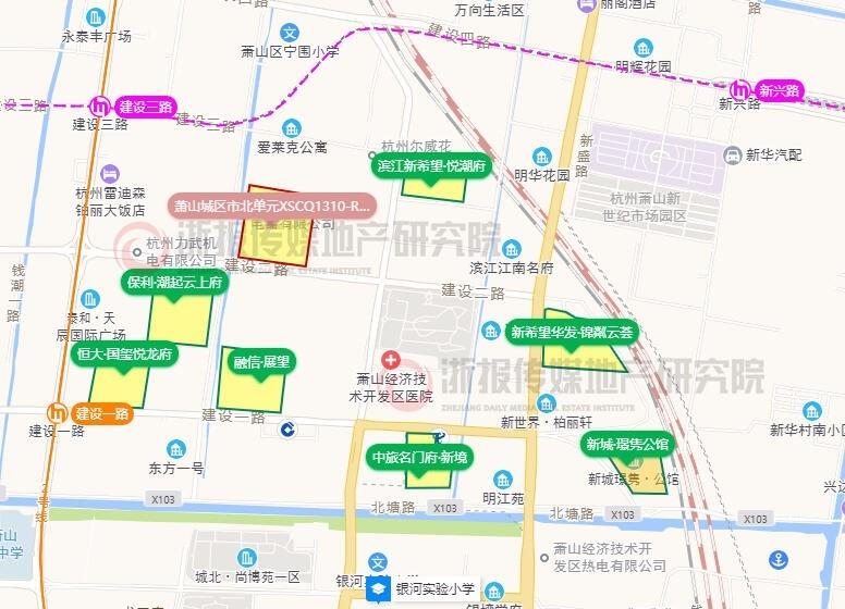 杭州萧山411亩土地预公告:市北、空港、衙前等上新