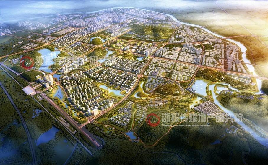高铁南站旁 永康江南山水新城地块即将上新