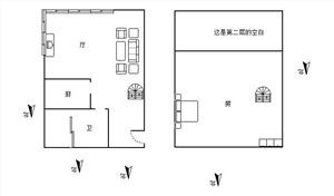 金色城品二手房-户型图