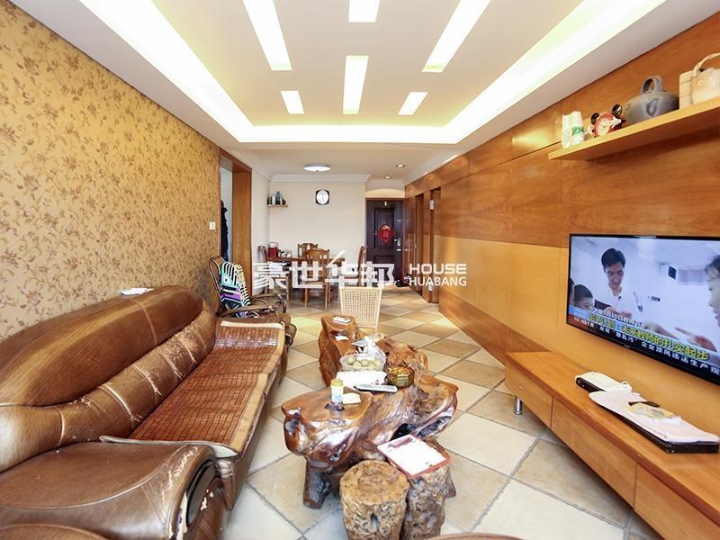 香港城全明通透 豪华精装修 东边套俯望月桂花园别墅区