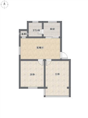 近江四园二手房-户型图