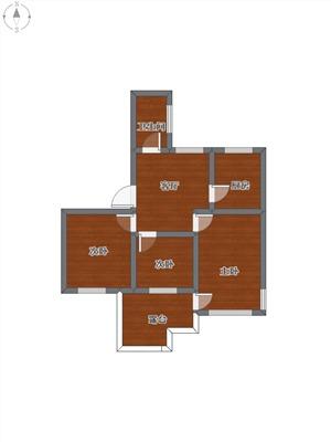 高桥小区二手房-户型图