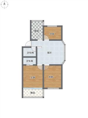 中兴公寓二手房-户型图