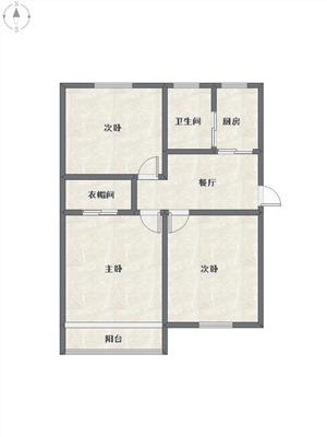 景芳二区二手房-户型图