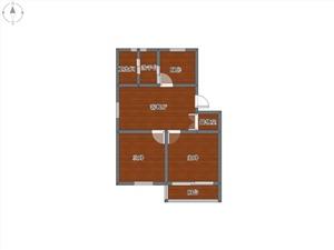 金海公寓二手房-户型图