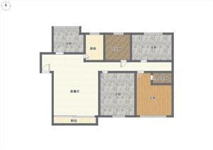 水木清华二手房-户型图