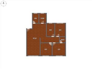 瓶山公寓二手房-户型图