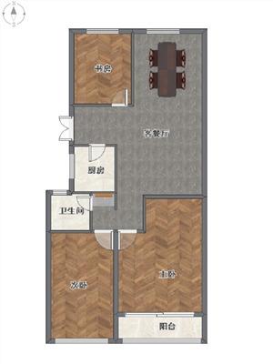 九润公寓二手房-户型图