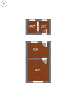 劳动路144号二手房-户型图