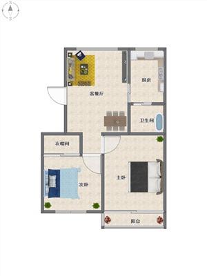 双菱新村二手房-户型图