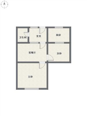 华家池二手房-户型图