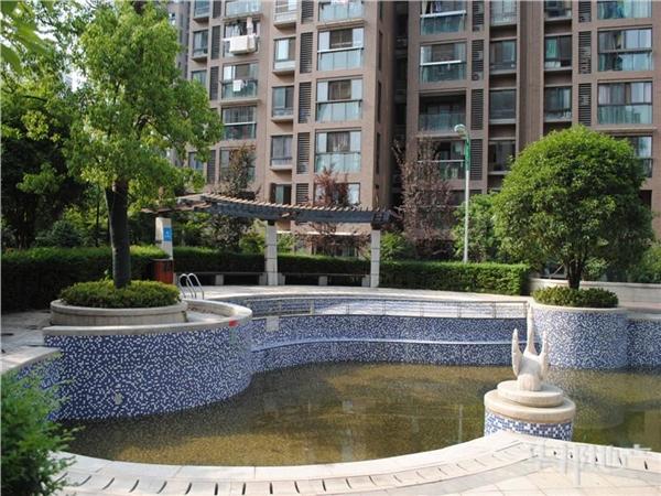 小区中心花园景观