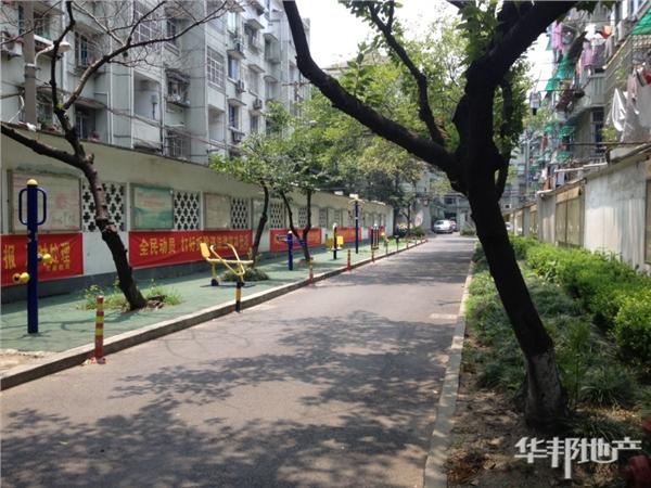 小区内健身广场