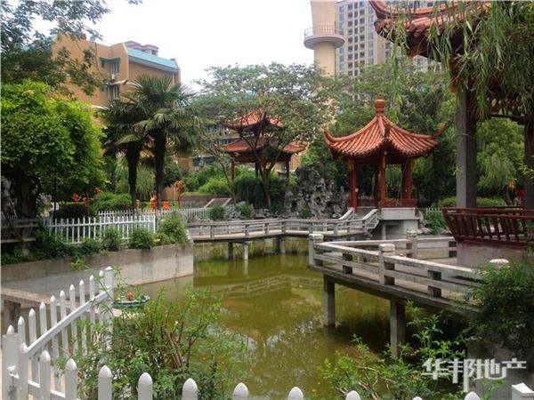 小区水系花园