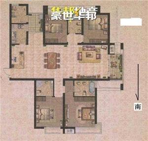 世茂江滨花园峻景湾二手房-户型图